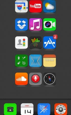Arries HD 1.1 iPhone 6 theme