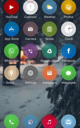 Looka 2.0.1 iOS8 theme